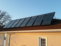 Click on Solar Radiant & Domestic Water Heat Panels